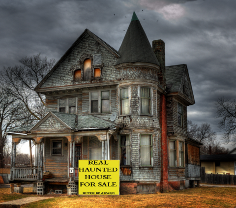 Haunted House for Sale!