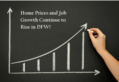 Housing Prices and Job Growth Will Continue to Rise in DFW