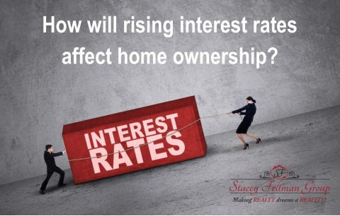 How will rising interest rates affect home ownership?