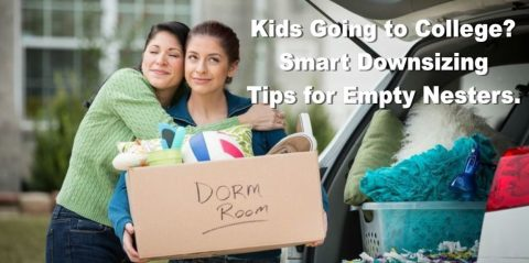 Kids Going to College?  Smart Downsizing Tips for Empty Nesters